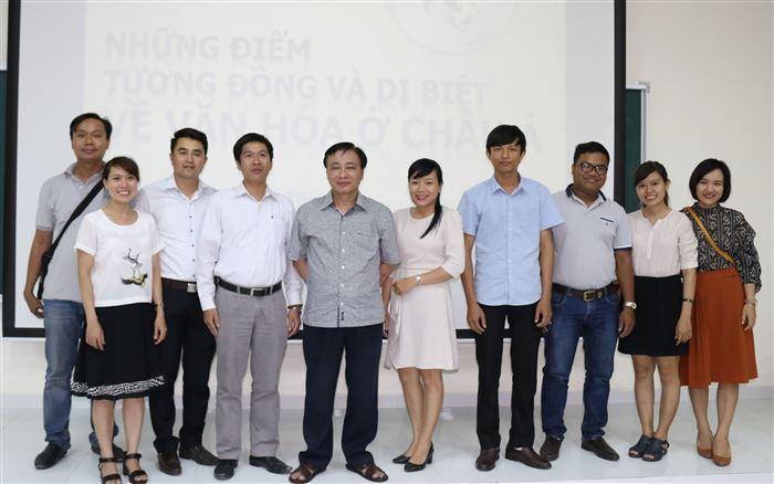 Khoa Lịch sử: Giao lưu học thuật và văn hóa với GS.TSKH Trần Ngọc Thêm