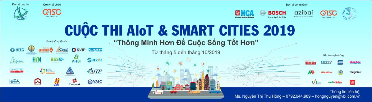 Thông báoi tham dự cuộc thi AIoT & Smart Cities 2019