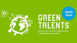 Cuộc thi Green Talents dành cho các nhà khoa học trẻ khắp thế giới