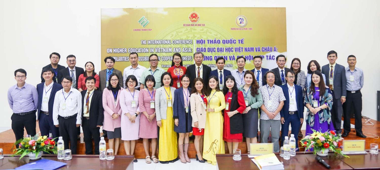 """Hội thảo khoa học quốc tế: """"Giáo dục Đại học Việt Nam và Châu Á – Tương quan và cơ hội hợp tác"""""""